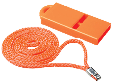 STREAMLINED SAFETY WHISTLE (#50-46041) - Click Here to See Product Details