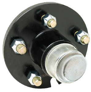 PAINTED TRAILER WHEEL HUB  (#50-53141) - Click Here to See Product Details
