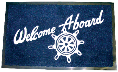 WELCOME ABOARD MAT (#50-78180) - Click Here to See Product Details