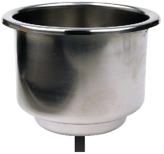 STAINLESS STEEL DRINK HOLDER (#50-79420) - Click Here to See Product Details