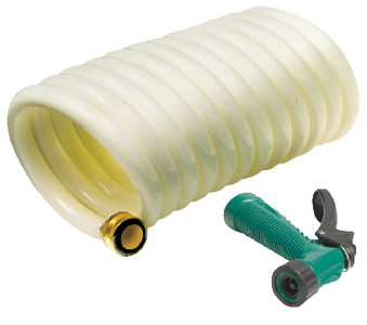 COILED WASHDOWN HOSE WITH SPRAYER (#50-79691) - Click Here to See Product Details