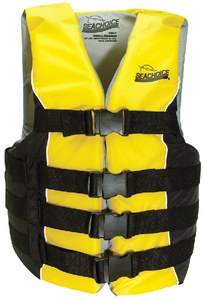 DELUXE 4-BELT SKI VEST (#50-86430) - Click Here to See Product Details