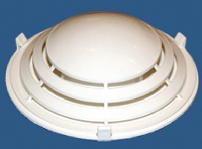 WHITE LOUVERED VENT  (#315-BLV1)