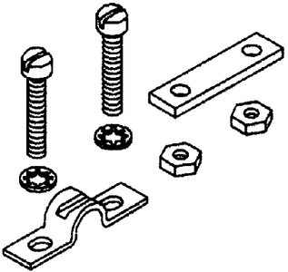 CABLE CLAMP & SHIMS  (#1-042756) - Click Here to See Product Details