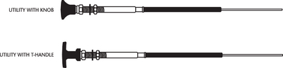 33LU CONTROL CABLES (#1-CC34305) - Click Here to See Product Details