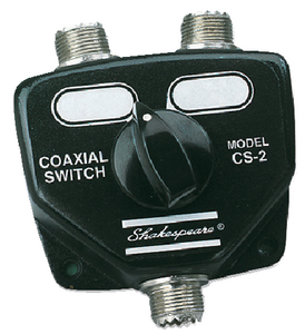TWO-WAY COAXIAL SWITCH (#167-CS2) - Click Here to See Product Details