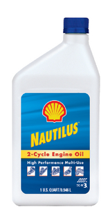 NAUTILUS PREMIUM TC-W3<sup>&reg;</sup> OUTBOARD 2-CYCLE OIL (#258-5548512031) - Click Here to See Product Details