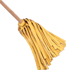 SOFT 'N' THIRSTY MOP WITH WOOD HANDLE (#658-1113) - Click Here to See Product Details