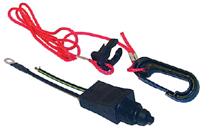OMC SWITCH & LANYARD (#11-MP28870) - Click Here to See Product Details