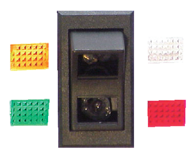 ILLUMINATED WEATHER PROOF ROCKER SWITCH (#11-RK19510K) - Click Here to See Product Details
