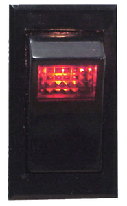 ILLUMINATED ROCKER SWITCH (#11-RK40100) - Click Here to See Product Details