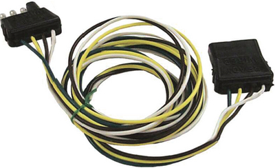 4 POLE FLAT CONNECTORS (#11-WH10350) - Click Here to See Product Details