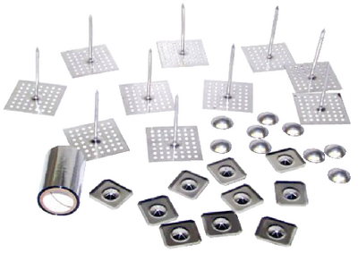 ALUMINUM INSTALLATION KIT (#378-HPAD25DK10) - Click Here to See Product Details