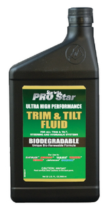 PRO STAR ULTRA HI-PERFORMANCE TRIM & TILT FLUID (#74-26732) - Click Here to See Product Details