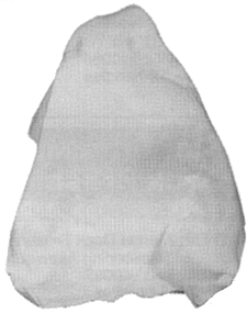 WHTE COTTON DIAPER POLISHING CLOTHS (#74-40039) - Click Here to See Product Details
