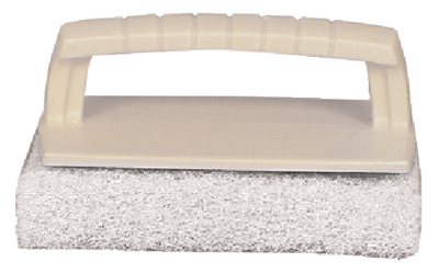 SCRUB PAD WITH HANDLE (#74-40129) - Click Here to See Product Details
