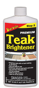 PREMIUM TEAK BRIGHTENER (#74-81516) - Click Here to See Product Details