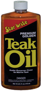 PREMIUM GOLDEN TEAK OIL (#74-85132) - Click Here to See Product Details