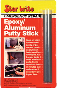 EMERGENCY REPAIR EPOXY/ALUMINUM PUTTY STICK (#74-87004) - Click Here to See Product Details