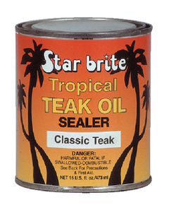 TROPICAL TEAK SEALER - Click Here to See Product Details