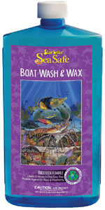 SEA SAFE WASH & WAX (#74-89737) - Click Here to See Product Details
