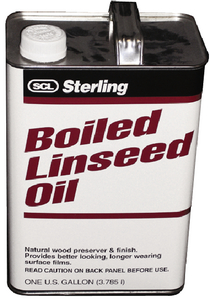 BOILED LINSEED OIL  (#373-102101) - Click Here to See Product Details