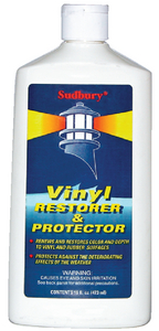 VINYL RESTORER & PROTECTOR (#829-2141) - Click Here to See Product Details