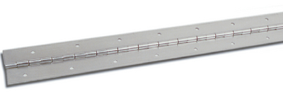 STAINLESS STEEL CONTINUOUS HINGE (#236-H140112P72) - Click Here to See Product Details