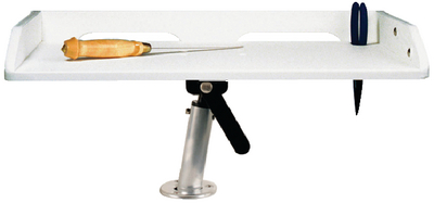 GUNNEL MOUNT FILLET TABLE (#236-P012132W) - Click Here to See Product Details