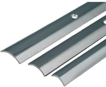 STAINLESS STEEL HOLLOW BACK RUB RAIL (#236-S114511P12) - Click Here to See Product Details