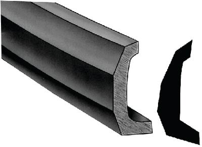 SEMI-RIGID VINYL RUB RAIL KIT  (#236-V114135BKA303) - Click Here to See Product Details