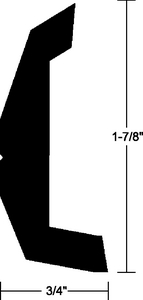 RIGID VINYL RUB RAIL (#236-V213670BKA20D1) - Click Here to See Product Details