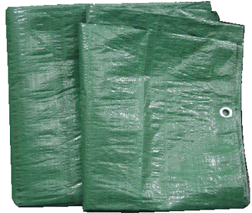 HEAVY DUTY GREEN POLY TARP (#136-97261G) - Click Here to See Product Details