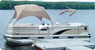 PONTOON GAZEBO (#32-12003OW) - Click Here to See Product Details