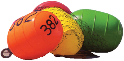 THE SPOILER<sup>TM</sup> INFLATABLE LOW DRAG BUOYS (#32-54014) - Click Here to See Product Details