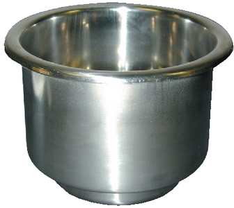STAINLESS STEEL CUP HOLDER (#232-LCH1SSDP) - Click Here to See Product Details