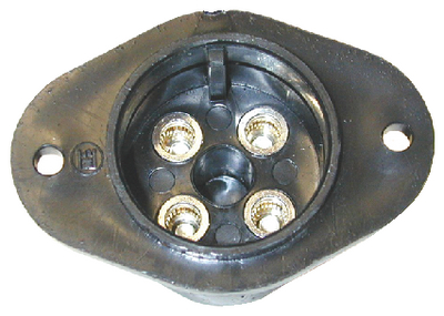 RANGER TROLLING MOTOR PLUG AND RECEPTACLE (#232-TMFR1DP) - Click Here to See Product Details