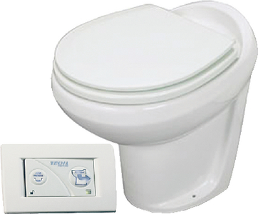TECMA EASYFIT<sup>TM</sup> PREMIUM PLUS PERMANENT MARINE TOILET (#363-38832) - Click Here to See Product Details