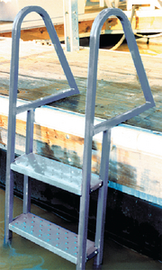 GALVANIZED DOCK LADDER (#241-28273) - Click Here to See Product Details