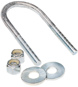 HOT DIPPED GALVANIZED U-BOLTS (#241-86224) - Click Here to See Product Details