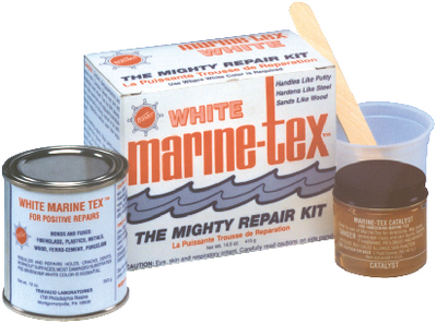 MARINE TEX EPOXY PUTTY - Click Here to See Product Details
