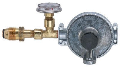 MARINE LPG TANK MOUNT SINGLE STAGE REGULATOR (#606-12001411) - Click Here to See Product Details
