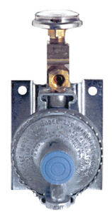 MARINE LPG WALL MOUNT REGULATOR (#606-12111401) - Click Here to See Product Details