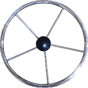 NON-MAGNETIC STAINLESS STEEL STEERING WHEEL (#216-V43) - Click Here to See Product Details