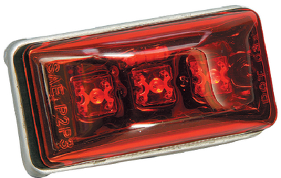 WATERPROOF LED CLEARANCE/SIDE MARKER LIGHT  (#274-401566) - Click Here to See Product Details