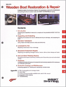 WOODEN BOAT RESTORATION & REPAIR MANUAL (#655-002970) - Click Here to See Product Details