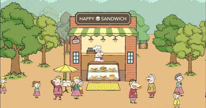Games Like Happy Sandwich Cafe