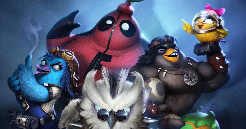 Games Like Angry Birds Evolution