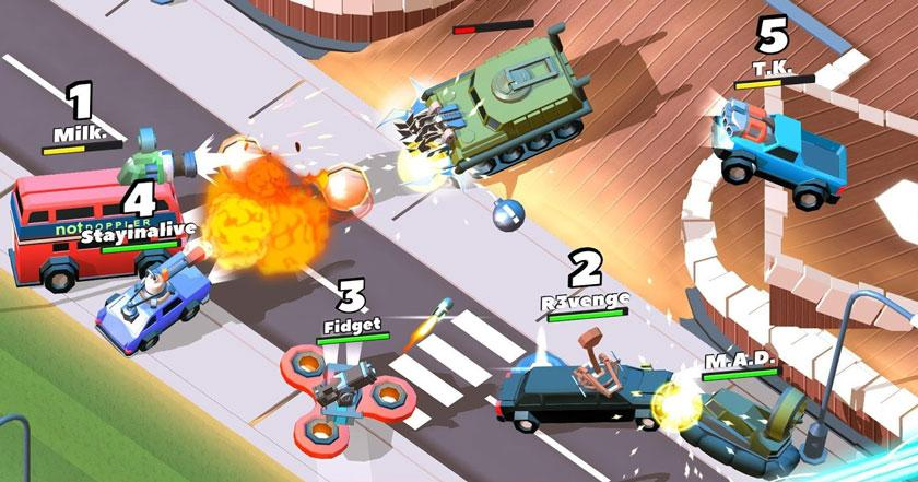 Games Like Crash of Cars