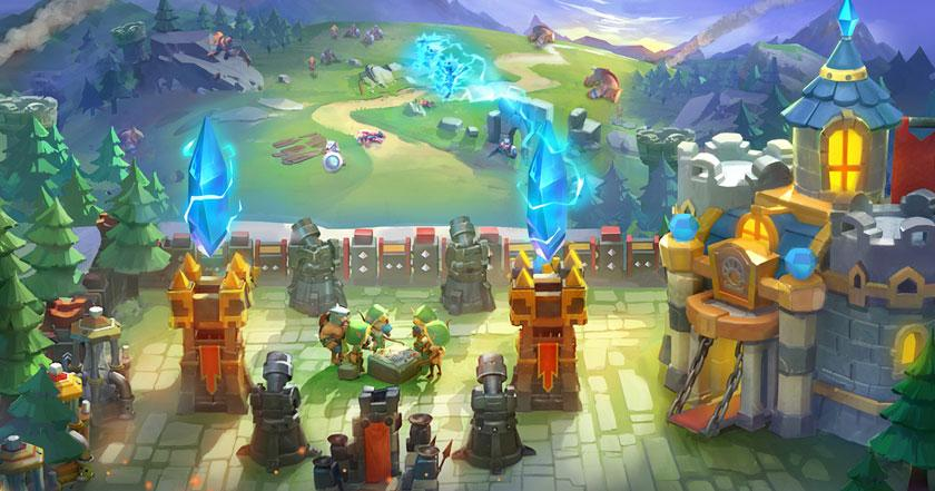 Games Like Castle Clash